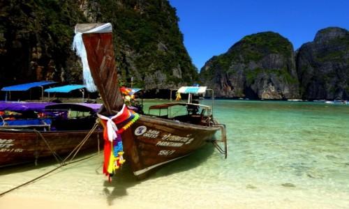 Zdjecie TAJLANDIA / Krabi / Ko Phi Phi / Niebiańska Plaża