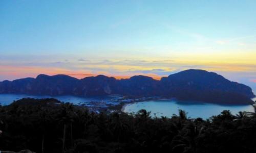 Zdjęcie TAJLANDIA / Krabi / Ko Phi Phi / Po tsunami już ani śladu