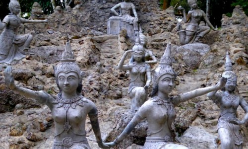 Zdjecie TAJLANDIA / Surat Thani / Ko Samui / Tajemniczy ogród