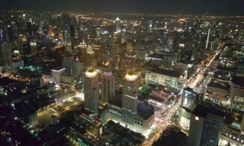 Zdjecie TAJLANDIA / - / Bangkok / Widok z 87 piętra