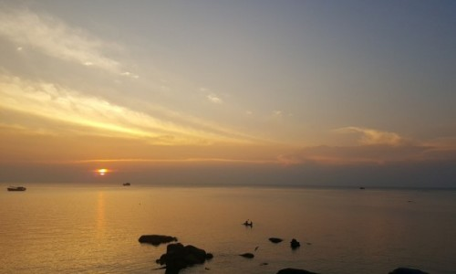 Zdjecie TAJLANDIA / - / Wyspa Kho Tao / Tajski zachód słońca