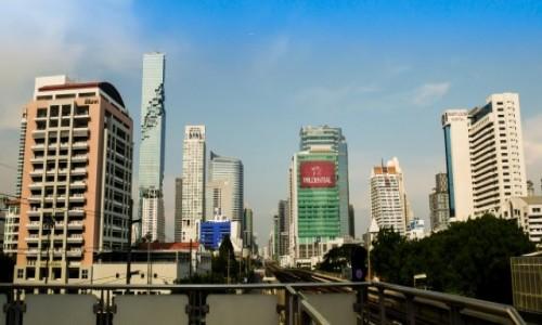 Zdjecie TAJLANDIA / Bangkok / BTS Skytrain / Tajlandia