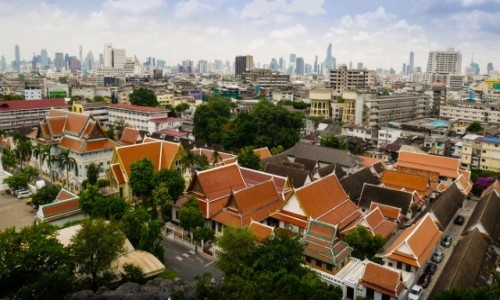 TAJLANDIA / Bangkok / Wat Saket / Bangkok