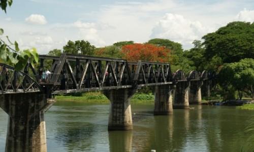 Zdjęcie TAJLANDIA / - / Kanchanaburi / Most na rzece Kwai