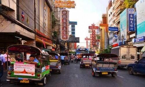 Zdjecie TAJLANDIA / Bangkok / Bangkok / Chinatown w Bangkoku