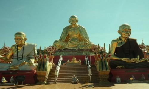 Zdjecie TAJLANDIA / Mae Suay  / Pah Treung village  / Wat Sang Kaew Photiyan