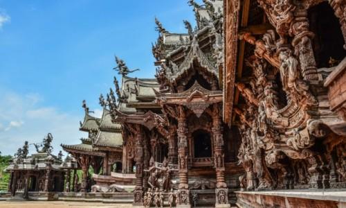 Zdjecie TAJLANDIA / - / Pattaya / Satchatham Prasat