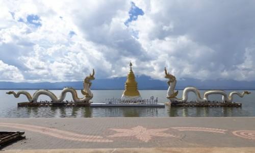 Zdjecie TAJLANDIA / Phayao / Kwan Phayao / Smoki Phayao