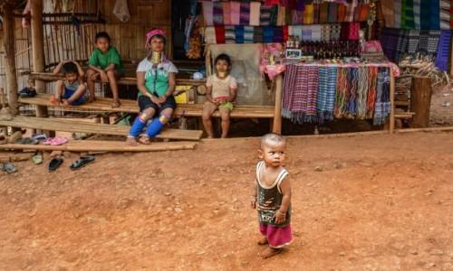Zdjecie TAJLANDIA /  Chiang Mai / - / Karenowie