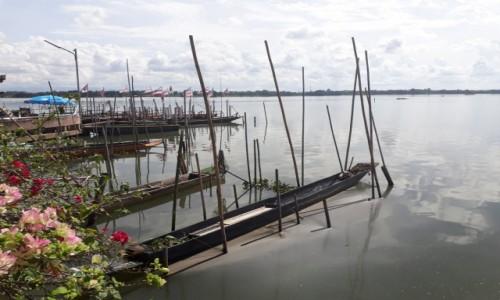 Zdjecie TAJLANDIA / Phayao / Phayao / Na jeziorze