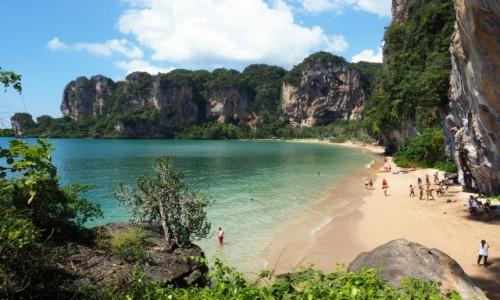 Zdjęcie TAJLANDIA / Krabi / Półwysep Railay / Tonsai Beach