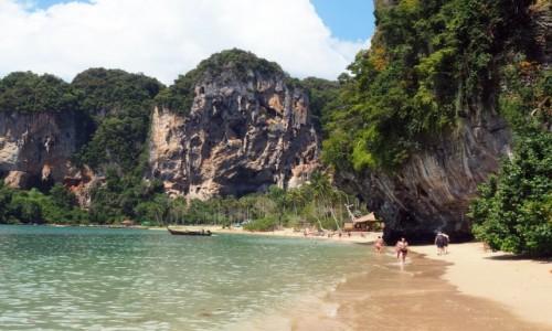 Zdjecie TAJLANDIA / Krabi / Półwysep Railay / Tonsai Beach