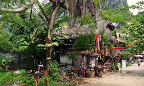 TAJLANDIA / Krabi / Półwysep Railay / Dla palących ;)