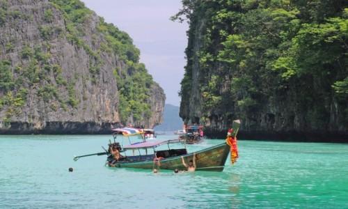 TAJLANDIA / Krabi / Phi Phi / Pileh Bay
