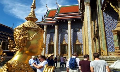 Zdjecie TAJLANDIA / Bangkok / Wat Phra Kaeo / Zwiedzając Wat Phra Kaeo