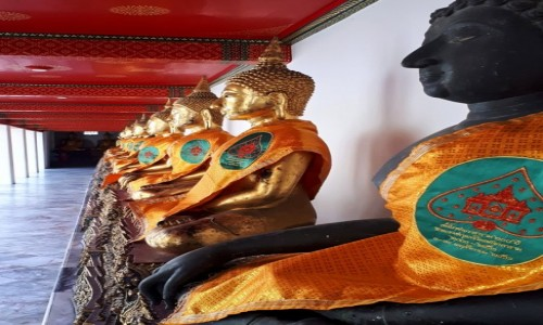 Zdjecie TAJLANDIA / Bangkok / Wat Phra Kaeo / W Wat Phra Kaeo