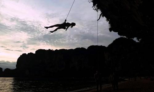 Zdjecie TAJLANDIA / Krabi / Ton Sai / Na linie