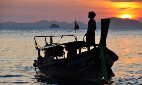 Zdjęcie TAJLANDIA / krabi / plaża / zachody
