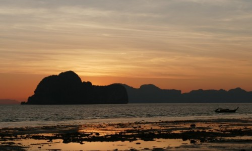Zdjecie TAJLANDIA / Krabi / Koh Ngai / Przed wschodem