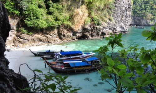 Zdjecie TAJLANDIA / krabi / wyspy / ukryte plaże
