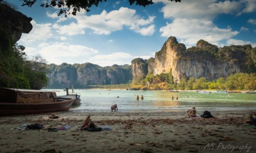 Zdjecie TAJLANDIA / Krabi / Railay West / Railay Beach