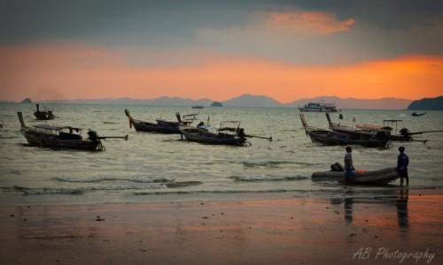 Zdjęcie TAJLANDIA / Krabi / Ao Nang / Łodzie