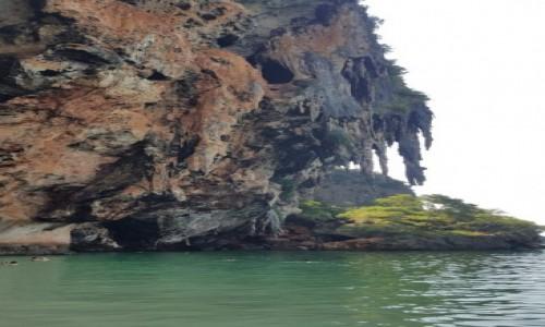 Zdjecie TAJLANDIA / Krabi / Railay Beach / Tajlandia nad zatoką
