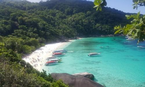 Zdjecie TAJLANDIA / Similian / Similian / Plaża
