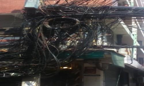 Zdjecie TAJLANDIA / BANGKOK / Bangkok / schemat instalacji elektrycznej wersja azjatycka - 2