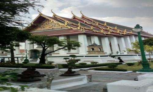 Zdjecie TAJLANDIA / Azja / Bangkok / WAT SUTHAT