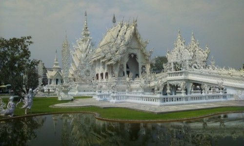 TAJLANDIA / Azja / chiang rai / white temple 1