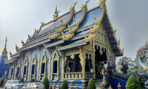 Zdjęcie TAJLANDIA / Azja / chiang rai / BLUE TEMPLE