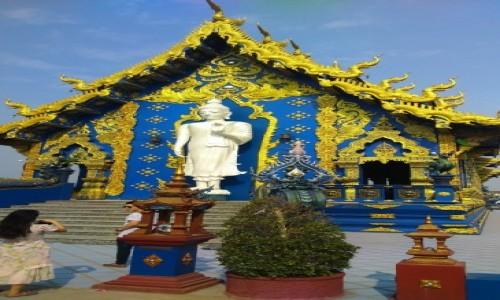 Zdjecie TAJLANDIA / Azja / chiang rai / BLUE TEMPLE 3