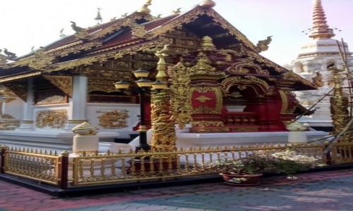 Zdjecie TAJLANDIA / Azja / chiang Mai /  ŚWIĄTYNIA Wat Phra Singh