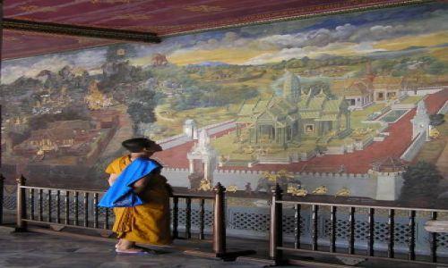 Zdjecie TAJLANDIA / Bangkok / pałac królewski / Ramajana