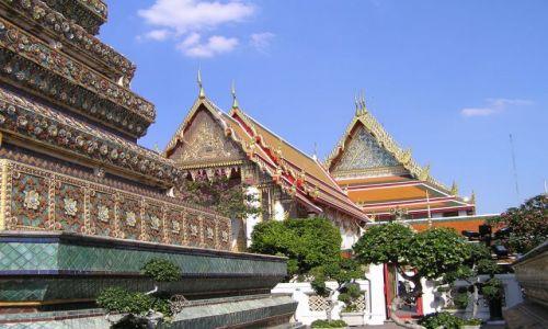 Zdjęcie TAJLANDIA / Bangkok / Wat Po / najstarsza światynia Bangkoku