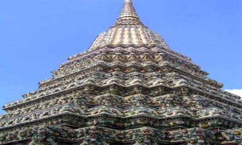Zdjęcie TAJLANDIA / Bangkok / Wat Po / stupa
