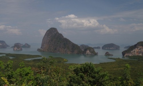 TAJLANDIA / Ao Phang-nga National Park / Samet Nangshe Viewpoint / Samet Nangshe Viewpoint