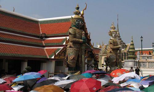 Zdjecie TAJLANDIA / Bangkok / Bangkok / w pałacu królewskim