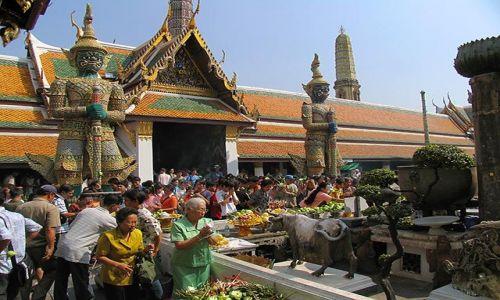 Zdjecie TAJLANDIA / Bangkok / Bangkok / w pa�acu kr�lew