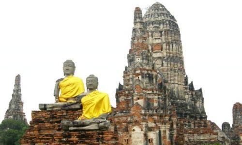 Zdjecie TAJLANDIA / brak / Ayutthaya / wspomnienie o dawnej świetności 2
