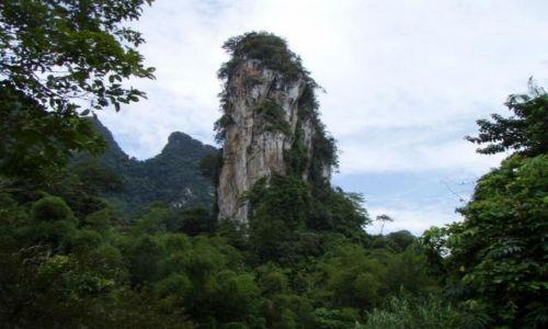 TAJLANDIA / Krabi / Krabi / dryblas a wokół las