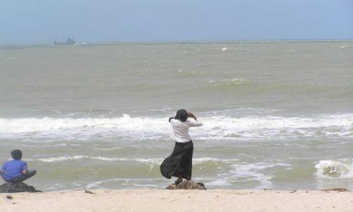 Zdjecie TAJLANDIA / południowo-wschodnie wybrzeże Tajlandii / Songla / muzułmanka