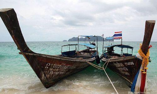 Zdjecie TAJLANDIA / Phi Phi / Long Beach / łódki