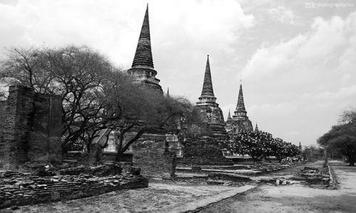 Zdjęcie TAJLANDIA / Ayutthaya / Ayutthaya historical park / Wat Phra Si Sanphet
