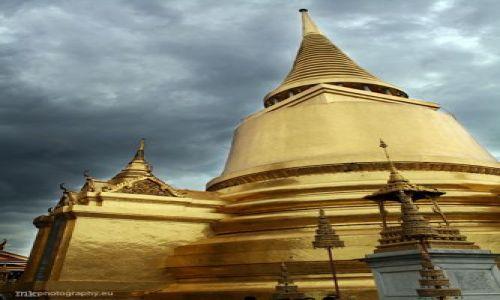Zdjecie TAJLANDIA / Bangkok / The Grand Palace complex / zlota swiatynia