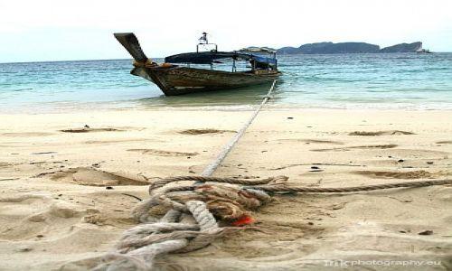 Zdjecie TAJLANDIA / Phi Phi / Long Beach / łódka