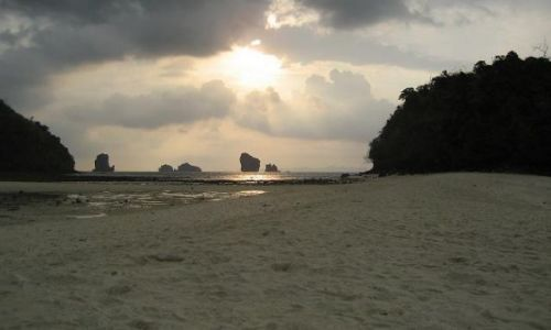 Zdjecie TAJLANDIA / Krabi / Railay Bay / Plaża w rejonie Krabi
