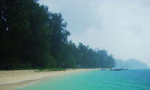 Zdjecie TAJLANDIA / CHAO MAI / Ko Kraden / Tropikalny deszcz