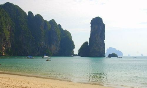 Zdjecie TAJLANDIA / Krabi / Ao Nang / Plaża 2